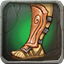 Magnificent Lacquered Greaves