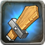 Oak Practice Weapons